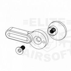 Selector tir CNC M4 B (M) Red [RetroArms]