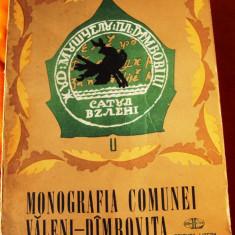 Monografia    comunei   Valeni  Dambovita