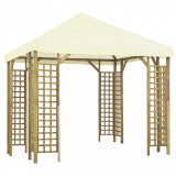 Pavilion, alb crem, 3 x 3 m