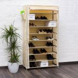 Pantofar panza pentru 45 perechi pantofi-bej