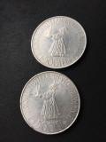 Moneda 500 lei 1941 argint