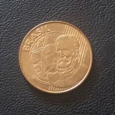 Monedă 25 Centavos 2009 Brazilia