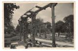 """Carte poștală """"Grădina Publică Bacău (1940 - circulată)"""