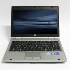Laptop HP EliteBook 2560p, Intel Core i5 Gen 2 2520M 2.5 GHz, 4 GB DDR3, 250 GB HDD SATA, DVDRW, Wi-Fi, Bluetooth, Webcam, Display 12.5inch 1366 by