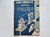 Carte tehnica: Uzina Hidraulica in Miniatura , din 1947