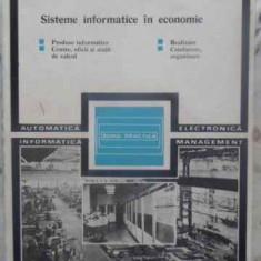 SISTEME INFORMATICE IN ECONOMIE - V. BITA, V. MARINESCU, V. PESCARU