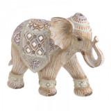 Elefant rasina crem rosu 24 x 18.5 cm