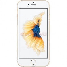 Telefon Mobil Apple iPhone 6S, Procesor Apple A9, IPS LED-backlit Multi‑Touch 4.7inch, 2GB RAM, 32GB flash, 12MP, Wi-Fi, 4G, iOS 9 (Auriu)