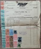 Factura Cauciucuri Kelly Springfield, Bucuresti 1940