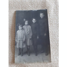 CARTE POSTALA, 1924. CRISTIAN, BENONE, SMARNDITA SI GEORGETA, NECIRCULATA