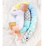 Protectie laterala multifunctionala BabyJem Caterpilar Blue Boy