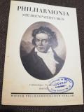 Studiul partiturilor- Filarmonica din Viena, stagiunea 1941/1942