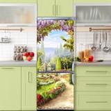 Sticker Tapet Autoadeziv pentru frigider, 210 x 90 cm, KM-FRIDGE-64