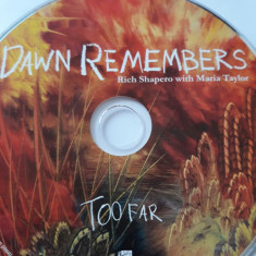 RICH SHAPERO WITH MARIA TAYLOR - DAN REMEMBERS  - CD