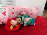 Peppa pig set 6 porcusori din plus 20 cm