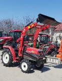 Tractor cu incarcator frontal si cupa standard 21CP,4x4