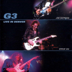G3SatrianiVaiMalmsteen Live In Denver (dvd)