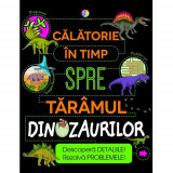 Carte Calatorie in Timp spre Taramul Dinozaurilor, Corint