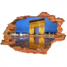 "Sticker ""Wall Crack"" Paris 8 - 120 x 80 cm"