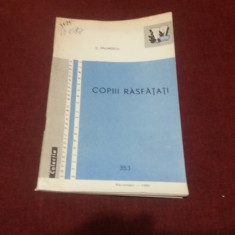 C PAUNESCU - COPIII RASFATATI
