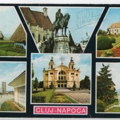 CPI B 11614 CARTE POSTALA - CLUJ NAPOCA, MOZAIC, Circulata, Fotografie