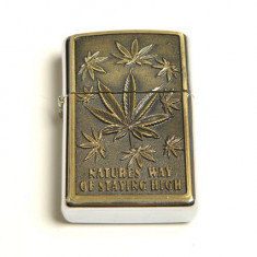 Bricheta model - Zippo - Natures Way Of Staying High - cannabis