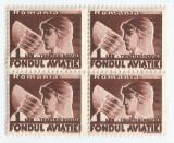 *Romania, LP VII.5b/1936, Fondul aviatiei - Trimiteri postale, MNH, Nestampilat