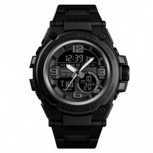 Ceas Barbatesc SKMEI CS906, curea silicon, digital watch, Functii- alarma, ora, data, cadran luminat, rezistent 3ATM