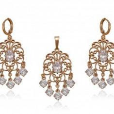 Set bijuterii Chandelier White