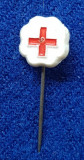 Insigna Donator Onorific - CRUCEA ROSIE Medicina Sanitare Donator de sange #10