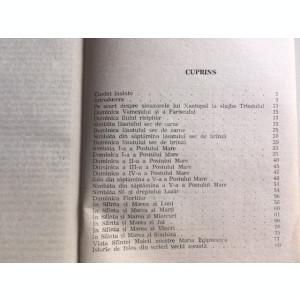 SINAXARELE TRIODULUI SI VIATA SFINTEI MARIA EGIPTEANCA, 1992