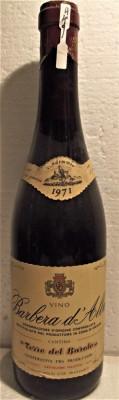 A 49- VIN BARBERA D'ALBA, DOC, recoltare 1971 CL 72 GR 13 foto