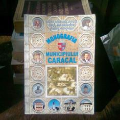 MONOGRAFIA MUNICIPIULUI CARACAL - DANA ROXANA DINCA