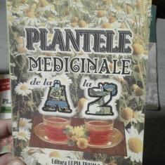 Plantele medicinale de la A la Z – Ovidiu Bojor