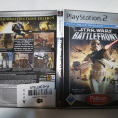 [PS2] Star Wars - Battlefront - Platinum - joc original Playstation 2