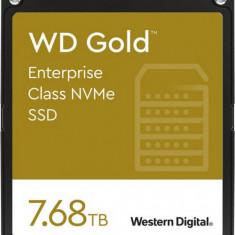 SSD WD Gold Enterprise Class 7.68TB PCIe Gen 3.1 x4 2.5 inch