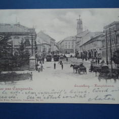 Care postala Cernauti 1899, Circulata, Printata