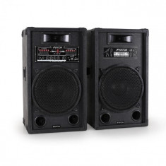 Skytec SPA1200 set de boxe activ PA 1200 W, USB-SD-MP3