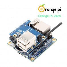 Pachet Placă de Dezvoltare Orange Pi Zero (cu 256 MB RAM) și Placă de Expansiune