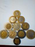 Lot monede straine bimetal 2