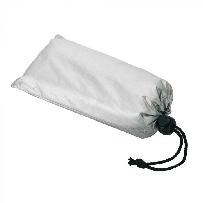 Protectie pentru parbriz, Everestus, SF01, poliester, argintiu, saculet de calatorie inclus