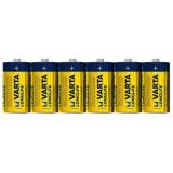 Set 6 baterii alkaline C, LR14 - Varta