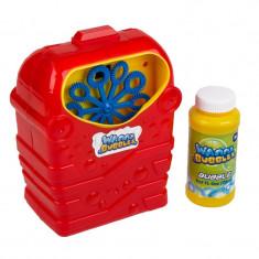Masina baloane pentru copii Wanna Bubbles, 18 cm, solutie inclusa, 3 ani+