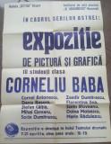 AFIS EXPOZITIE CORNELIU BABA