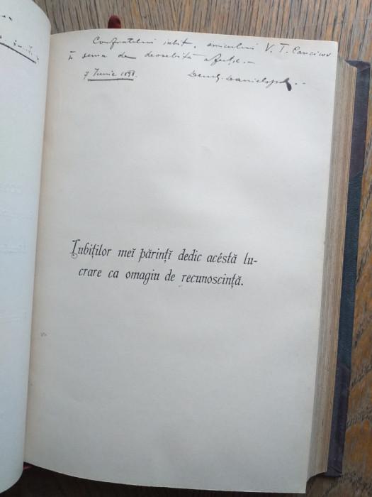 LICENTE IN DREPT- GEORGE DANIELOPOLU....DEDICATII/SEMNATURI
