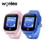 Cumpara ieftin Pachet Promotional 2 Smartwatch-uri Pentru Copii Wonlex KT01 cu Functie Telefon, Localizare GPS, Camera, Pedometru, SOS, IP54, Roz + Albastru, Cartela