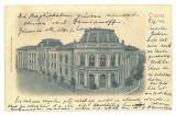 5051 - CRAIOVA, High School CAROL I, Romania - old postcard - used - 1904