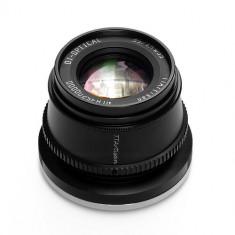 Obiectiv TTArtisan 35mm F1.4 Negru pentru Sony E-Mount