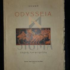 HOMER - ODYSSEIA (Traducere de CEZAR PAPACOSTEA), 1929, Bucuresti