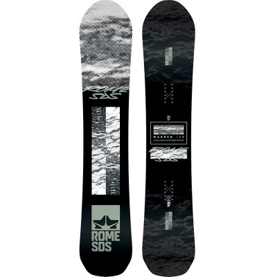 Placa Snowboard Rome Warden 158 2020 foto